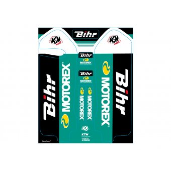 Ktm Sx 125 &+ 2015-2017 Stickers Protections Fourche