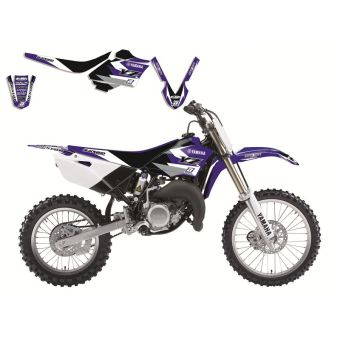 Yamaha Yz 85 2015-2017 Kit Déco + Housse Blackbird Dream 3