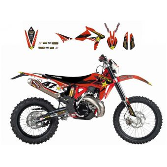 Beta Rr 350 2013-2017 Kit Déco Blackbird Rockstar Energy