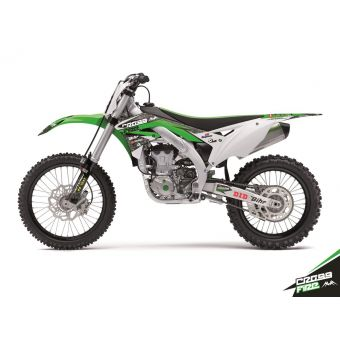 Kawasaki Kx 450 F 2016-2017 Kit Déco Cross Fire Kutvek