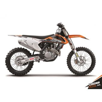 Ktm Sx 125 2016-2017 Kit Déco Cross Fire Kutvek