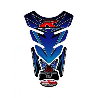 Suzuki Universel - Protections de Réservoir 4 Parties Bleu