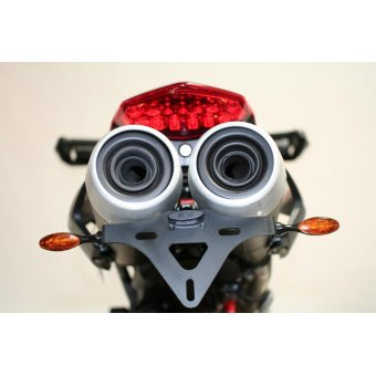 Ducati Hypermotard 796 2010-2015 Support de Plaque RG