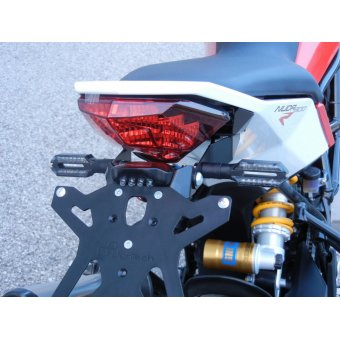Husqvarna Nuda 900  2011-2013 Support de Plaque Réglable Lightech Noir