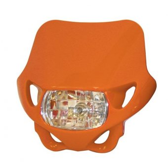 Plaque Phare Bihr Enduro 12v 35w Orange