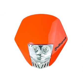 Plaque Phare Polisport Hmxled Orange Ktm