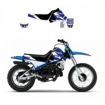 PROMO Yamaha Pw 50 1990-2017 Kit Déco Blackbird Dream 3
