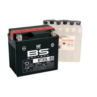 Bombardier/Can-Am Ds 90 / F / X 2002-2016 Batterie BS YTX4L-BS