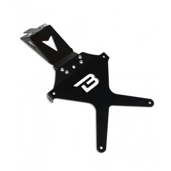 SUPPORT DE PLAQUE INCLINABLE KAWASAKI  ER6 2012