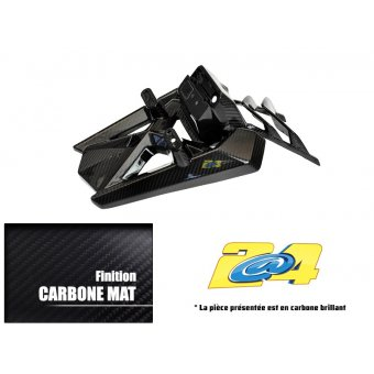 Support de Plaque Origine Carbone Mat Yamaha T-Max 530 2012/2013