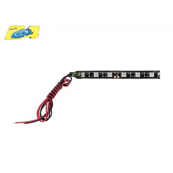 Barrette 6 Led High Power Eclairage Rouge 10 CM