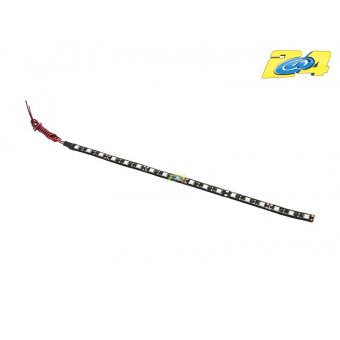 Barrette 18 Led High Power Eclairage Rouge 30 CM