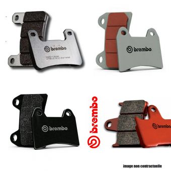 Yamaha Yfm 350 Grizzly 2007-2014 Plaquettes Avant Brembo 07H009SD