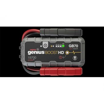 Booster de Batteries Noco Genius Gb70 Lithium 2000a 12v - 8,0l -6,0L Diesel