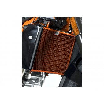 Ktm Duke 690 / R 2012-2016 Protection Radiateur RG Orange