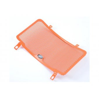 Ktm Adventure 990 2008-2014 Protection Radiateur RG Orange