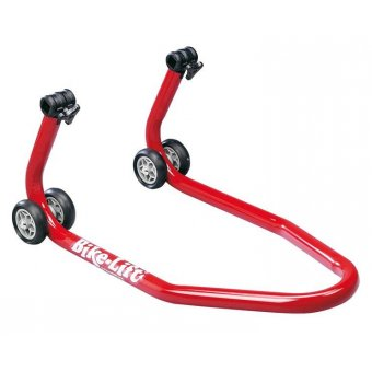Béquille Avant Universelle Rouge + Supports Coniques Bike Lift