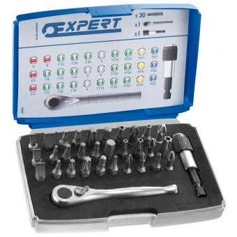 "Coffret 30 Embouts 1/4"" Expert"