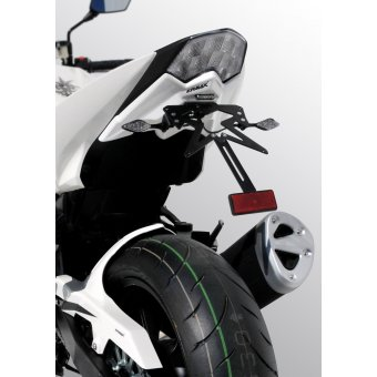 Support Plaque Ermax Z 1000 Sx 1000 2016 Gris MetalMetallic Carbon Gray