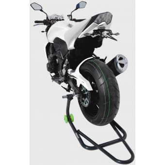 Support Plaque Ermax Zx6 R 2011 2016 Noir Brillant ebony