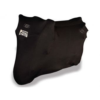 Housse de Protection Oxford Protex Stretch Noir Interieur L