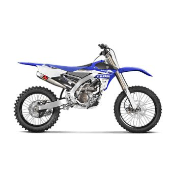 Yamaha Yz 250 Fx 2015-2016 Silencieux Slip-On Titane Akrapovic S-Y2SO15-CIBNTA