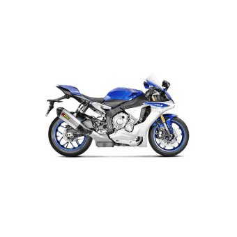 Yamaha Yzf R1 2015-2018 Silencieux Slip-On Titane Akrapovic S-Y10SO14-HHX2T