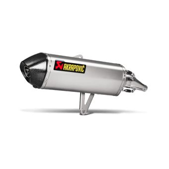 Honda Sh 300i 2016-2018 Silencieux Slip-On Inox Akrapovic S-H3SO4-HRSS