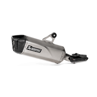Bmw R 1250 Gs Adventure 2019 Silencieux Slip-On Titane Akrapovic S-B12SO23-HAAT