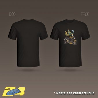 T-Shirt 2A4 Super Nac homme simple impression