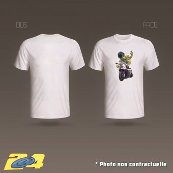 T-Shirt 2A4 Super Nac2 homme simple impression