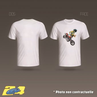 T-Shirt 2A4 Clicker homme simple impression