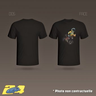 T-Shirt 2A4 Clicker 2 homme simple impression