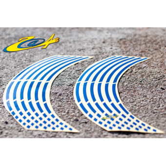 Wheel Stripes/Filets de jantes Race Bleu