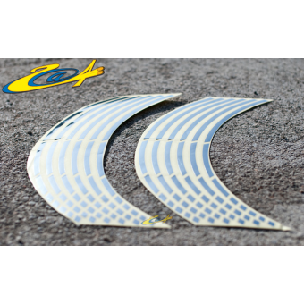 Wheel Stripes/Filets de jantes Race Chrome