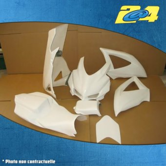 polyester complet GSX 600 R 2008-2010