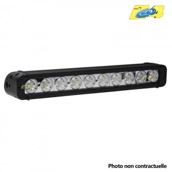 Barre LED 100W mixte - 10x10W