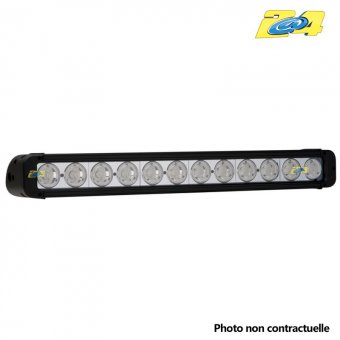 Barre LED 120W grand angle - 12x10W