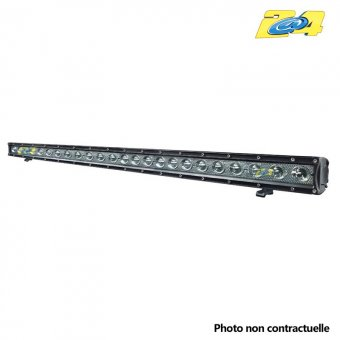 Barre LED 120W grand angle - 24x5W