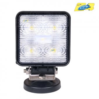 Optique LED 15W grand angle - 5x3W