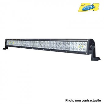 Barre double LED 180W mixte - 60x3W