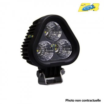 Optique LED 3000 LM 30W grand angle - 3x10W