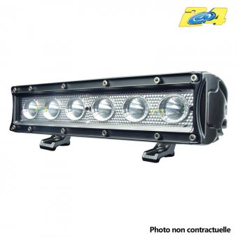 Barre LED 30W mixte - 6x5W