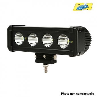 Barre LED 40W mixte - 4x10W