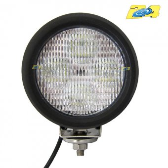 Optique LED rond 40W grand angle - 4x10W