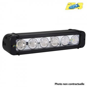 Barre LED 60W mixte - 6x10W