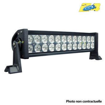Barre double LED 72W mixte - 24x3W