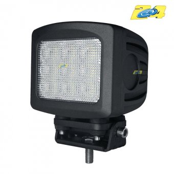 Optique LED 90W grand angle - 9x10W